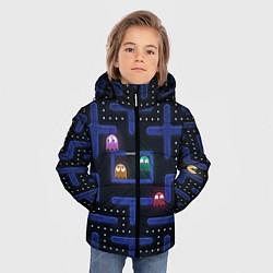 Куртка зимняя для мальчика Pacman цвета 3D-черный — фото 2