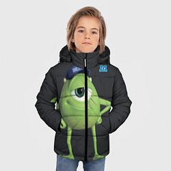 Куртка зимняя для мальчика Майк Вазовски цвета 3D-черный — фото 2