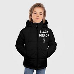 Куртка зимняя для мальчика ЧЕРНОЕ ЗЕРКАЛО цвета 3D-черный — фото 2