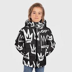 Куртка зимняя для мальчика Jony цвета 3D-черный — фото 2