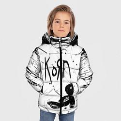 Куртка зимняя для мальчика Korn цвета 3D-черный — фото 2