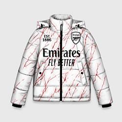 Куртка зимняя для мальчика ARSENAL 2021 - ГОСТЕВАЯ цвета 3D-черный — фото 1