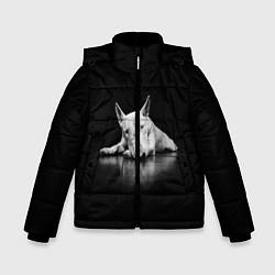 Куртка зимняя для мальчика Puppy цвета 3D-черный — фото 1