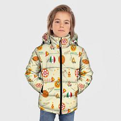 Куртка зимняя для мальчика Время есть! цвета 3D-черный — фото 2