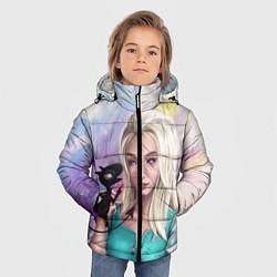 Куртка зимняя для мальчика Disenchantment цвета 3D-черный — фото 2