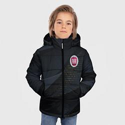 Куртка зимняя для мальчика FIAT ФИАТ S цвета 3D-черный — фото 2