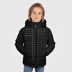 Куртка зимняя для мальчика Т цвета 3D-черный — фото 2