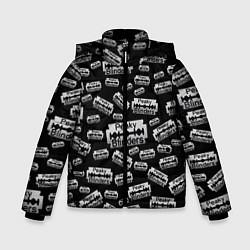 Куртка зимняя для мальчика Peaky Blinders Лезвие Паттерн цвета 3D-черный — фото 1