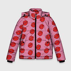 Куртка зимняя для мальчика Губки цвета 3D-черный — фото 1