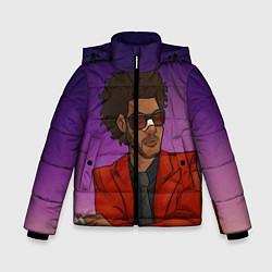 Куртка зимняя для мальчика Стильный Уикенд цвета 3D-черный — фото 1