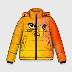 Куртка зимняя для мальчика Орёл 3d цвета 3D-черный — фото 1