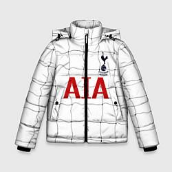 Куртка зимняя для мальчика Тоттенхем Лондон цвета 3D-черный — фото 1