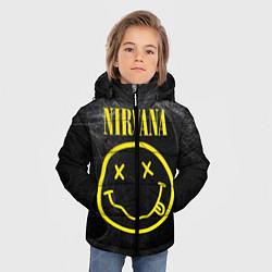 Куртка зимняя для мальчика Nirvana Smoke цвета 3D-черный — фото 2