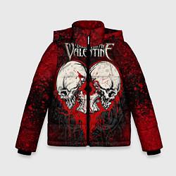Детская зимняя куртка для мальчика с принтом BFMV: Duo Skulls, цвет: 3D-черный, артикул: 10064310206063 — фото 1