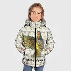 Куртка зимняя для мальчика Imagine Dragons: Fly цвета 3D-черный — фото 2