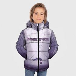 Детская зимняя куртка для мальчика с принтом Imagine Dragons: Silence, цвет: 3D-черный, артикул: 10064383706063 — фото 2
