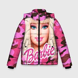 Куртка зимняя для мальчика Барби цвета 3D-черный — фото 1