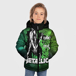 Куртка зимняя для мальчика Metallica: Robert Trujillo - фото 2
