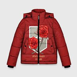 Куртка зимняя для мальчика Стационарная гвардия цвета 3D-черный — фото 1