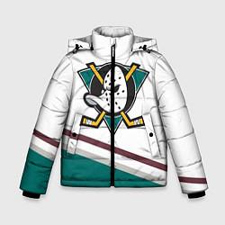 Куртка зимняя для мальчика Anaheim Ducks Selanne цвета 3D-черный — фото 1