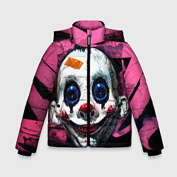 Детская зимняя куртка для мальчика с принтом Клоун, цвет: 3D-черный, артикул: 10072073906063 — фото 1