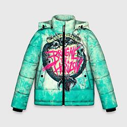 Детская зимняя куртка для мальчика с принтом BMTH: Sempiternal, цвет: 3D-черный, артикул: 10073643506063 — фото 1