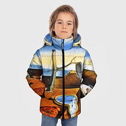 Куртка зимняя для мальчика Постоянство Памяти цвета 3D-черный — фото 2