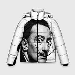 Куртка зимняя для мальчика Сальвадор Дали - фото 1