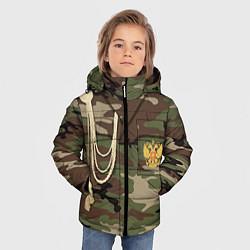 Куртка зимняя для мальчика Униформа дембеля цвета 3D-черный — фото 2