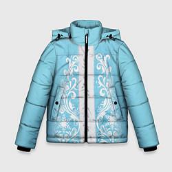 Куртка зимняя для мальчика Снегурочка цвета 3D-черный — фото 1