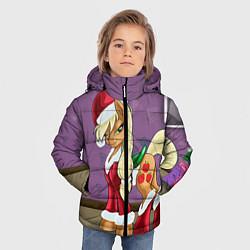 Детская зимняя куртка для мальчика с принтом Pinky Pie: Xmas, цвет: 3D-черный, артикул: 10076390606063 — фото 2