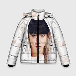Куртка зимняя для мальчика Jeon Jung Kook цвета 3D-черный — фото 1