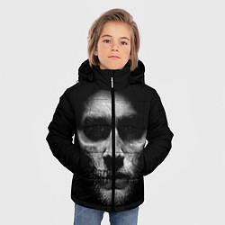 Куртка зимняя для мальчика Sons Of Anarchy цвета 3D-черный — фото 2