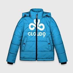 Куртка зимняя для мальчика Cloud 9 цвета 3D-черный — фото 1