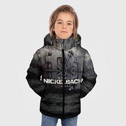 Куртка зимняя для мальчика Nickelback Repository цвета 3D-черный — фото 2