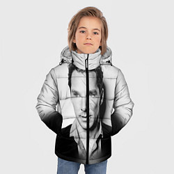 Куртка зимняя для мальчика Бенедикт Камбербэтч цвета 3D-черный — фото 2