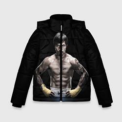 Куртка зимняя для мальчика Мэнни Пакьяо - фото 1