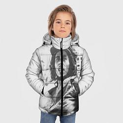 Куртка зимняя для мальчика Молодой Боб Марли цвета 3D-черный — фото 2