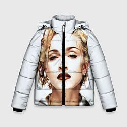 Куртка зимняя для мальчика Мадонна цвета 3D-черный — фото 1