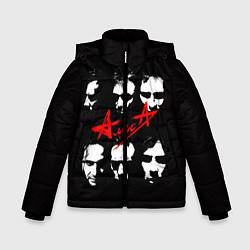 Куртка зимняя для мальчика Группа АлисА цвета 3D-черный — фото 1