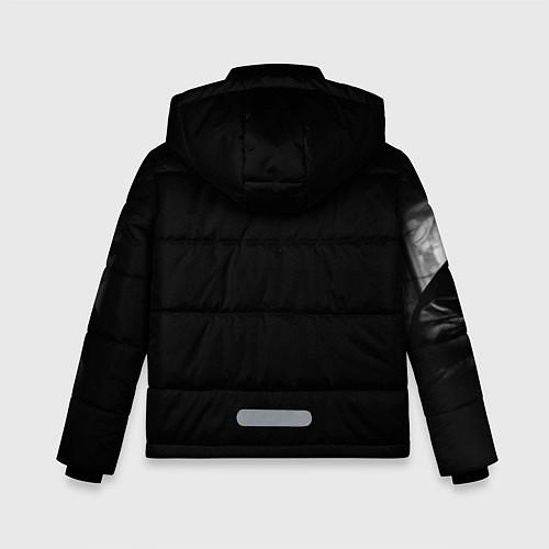 Зимняя куртка для мальчика Виктор Цой / 3D-Черный – фото 2