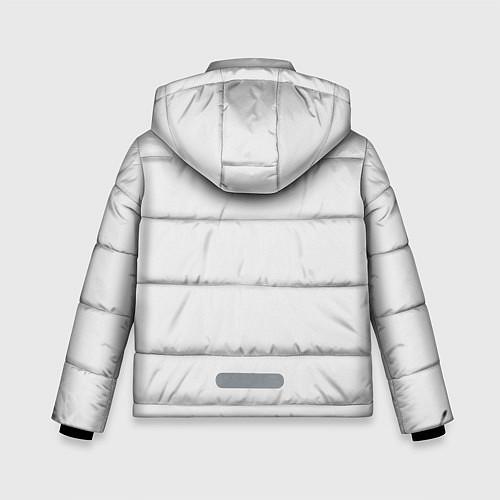 Зимняя куртка для мальчика Кино: Виктор Цой / 3D-Черный – фото 2
