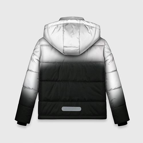 Зимняя куртка для мальчика Пикник / 3D-Черный – фото 2