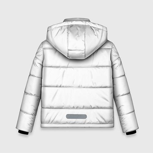 Зимняя куртка для мальчика Panda Love / 3D-Черный – фото 2