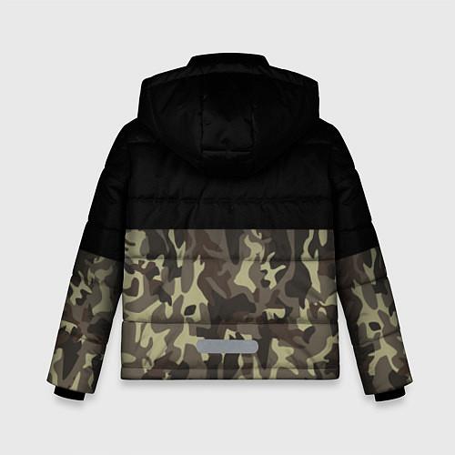 Зимняя куртка для мальчика FCK U: Camo / 3D-Черный – фото 2