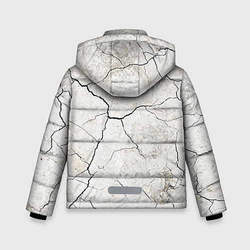 Зимняя куртка для мальчика Train hard / 3D-Черный – фото 2