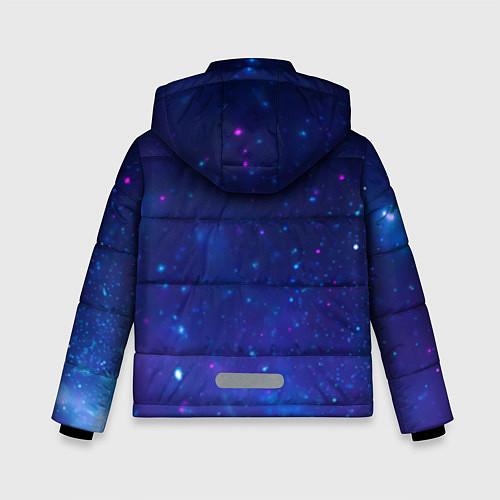 Зимняя куртка для мальчика Лев SWAG / 3D-Черный – фото 2