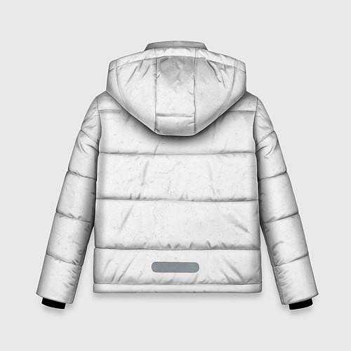 Зимняя куртка для мальчика KISS: Adult demon wig / 3D-Черный – фото 2