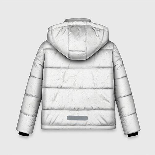 Зимняя куртка для мальчика KISS: Adult spaceman wig / 3D-Черный – фото 2
