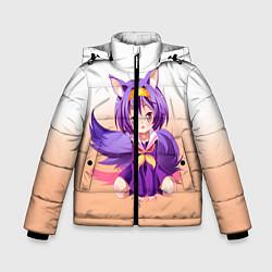 Куртка зимняя для мальчика No Game No Life цвета 3D-черный — фото 1